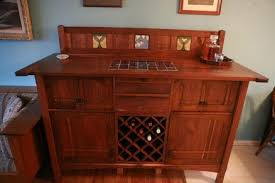 sideboard bar cabinet with fridge inside by joshone