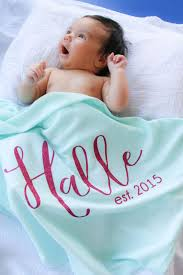 engraved blankets baby announce your new bundles of in our personalized boutique