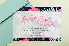 custom bridal shower invitations nothing basic about basic invite s custom bridal invitations