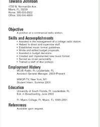 resume exles for college internships in florida resume exles college