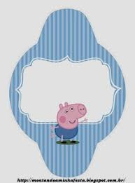 george pig free party printables images invitaions