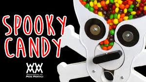 skull and crossbones halloween candy dispenser youtube