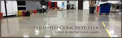 polished concrete floors colorado denver loveland longmont