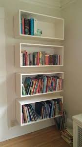 Wall Bookcase Gorgeous Wall Bookshelves Ideas 17 Best Ideas About Wall