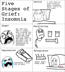 Insomniac Meme - insomnia rage comic the five stages of grief know your meme