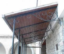 tettoia ferro battuto tettoia con pilastri in ferro battuto attorcigliato pergolas