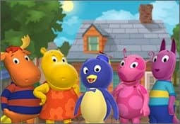 backyard friends backyardigans spilling beans