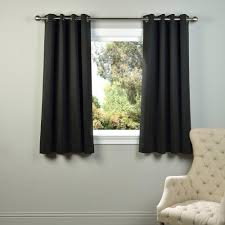 Eclipse Grommet Blackout Curtains Eclipse Blackout Madison Light Khaki Polyester Grommet Blackout