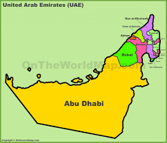 Uae Blank Map by Download Uae In Map Major Tourist Attractions Maps