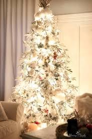 the flocked tree u2013 secret garland revealed