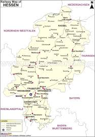 Boston Rail Map by Hessen Railway Map Railway Map Of Hessen Germany