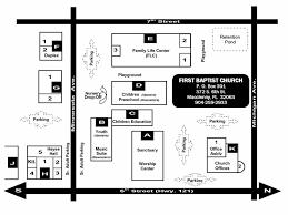 preschool layout floor plan first baptist church of macclenny church campus map