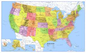 Alaska And Usa Map by Maps Us Map With Oceans United States Map Kansas City At Maps Map