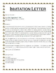 how to write a business invitation letter 28 images doc 500365