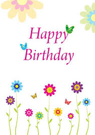 free birthday cards printable happy birthday cards free pictures reference