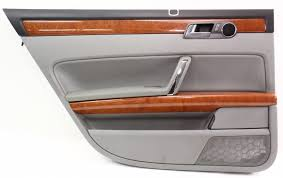 volkswagen phaeton interior lh rear interior door panel card 04 06 vw phaeton gray with