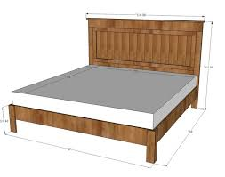 Dimensions Of King Bed Frame King Size Bed Frame Measurements King Size Bed Frame Dimensions