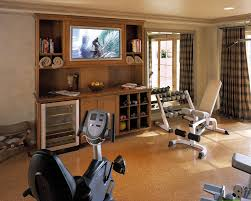 Cheap Basement Makeovers by Glamorous Total Gym Xls In Home Gym Contemporary With Outdoor