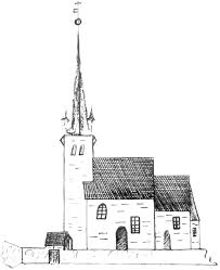 file norderhov church sketch1823 png wikimedia commons