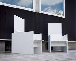 silo modern outdoor chair by david salmela loll designs