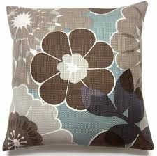 blue and gray sofa pillows two brown gray taupe cadet blue lavender pillow covers handmade