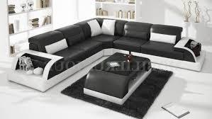 canapé cuir noir design galerie de canapé cuir noir et blanc canapé design