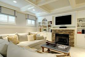 window treatments for basement windows family room traditional