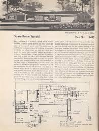 Mid Century Modern Ranch House Plans Vintage House Plans Vintage Ranch Floor Plans Pinterest