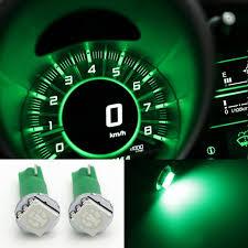 dashboard led light bulbs 2pcs t5 74 5050 1 smd car dashboard gauge side led light bulbs l