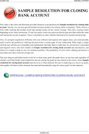 letter format for bank account closing image collections letter