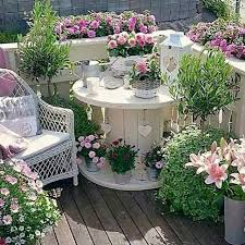 turn an old spool into a garden patio these are the best