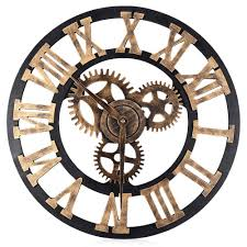 aliexpress com buy 17 7 inch digital wall clocks design 3d large