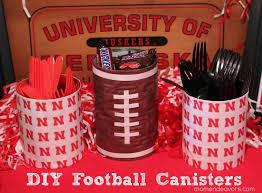 Football Centerpieces 25 Football Party Craft Ideas Real Housemoms