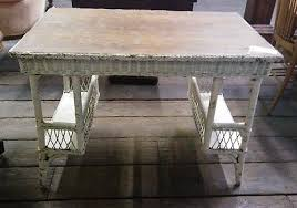 White Wicker Desk by White Wicker Desk For Sale Classifieds