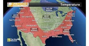 Phoenix Weather Map by The Weather Network Delivers Its Summer Forecast