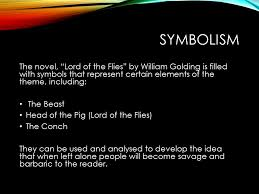 lord of the flies themes and messages the theme of evil in lord of the flies a novel by william golding