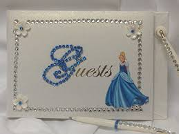 sweet 16 guest book cinderella birthday party guest books birthday wikii