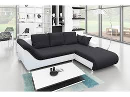 canapé d angle bi matière canapé d angle convertible bi matière et coffre de