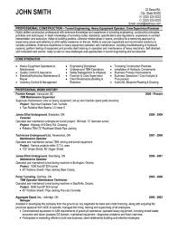 Sample Resume For Heavy Equipment Operator by Maintenance Resume Sample U2013 Resume Examples
