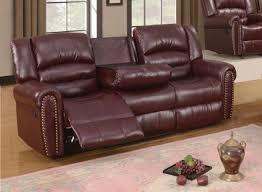 leather reclining sofa with nailhead trim aecagra org