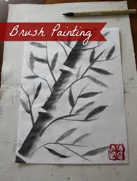 marie u0027s pastiche chinese brush painting how to paint bamboo