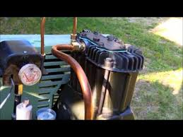 old sears air compressor rebuilt youtube