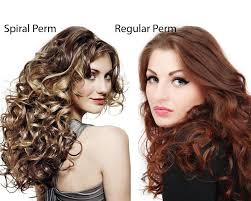 what is the differnece between a spiral and regular perm glamorous spiral perm vs regular perm within the difference between