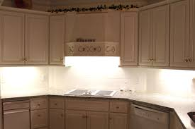 Cream Cabinet Kitchen Beautiful Kitchen Led Under Cabinet Lighting With Cream Cabinet