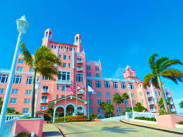 loews don cesar hotel in st pete beach is also known as the pink