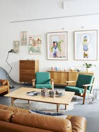 Midcentury Modern Living Room - 35 gorgeous airy mid century modern living rooms digsdigs
