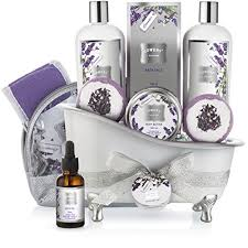 miami gifts delivered by gifttree bath gift basket set for women relaxing at home spa kit scented