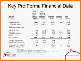 Pro Forma Financial Statements Excel Template 10 Pro Forma Financial Statement Template Statement 2017