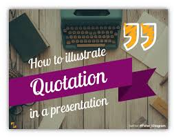 7 ideas of designing a quote slide infodiagram
