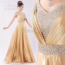 wedding party dresses gold color sleeveless sequins lovely floor length burgundy